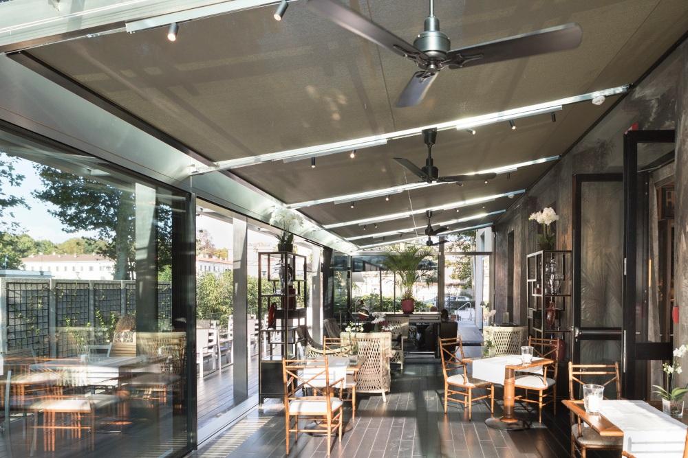 ristorante villa reale monza veranda